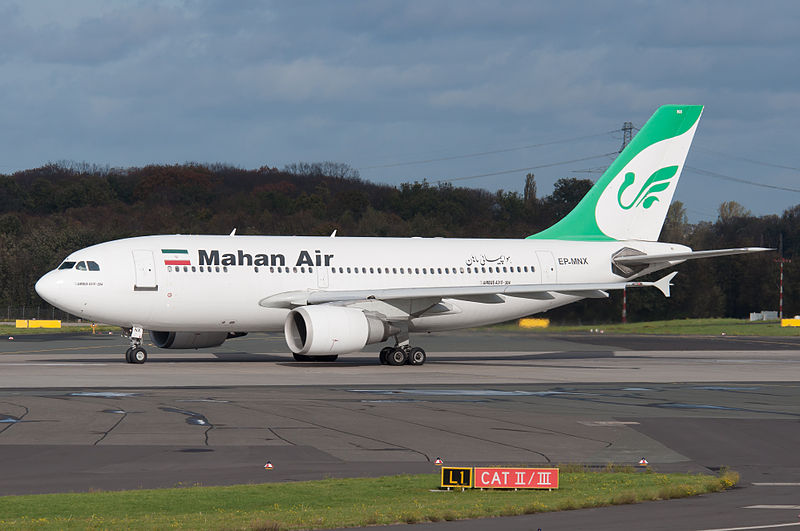 Germany bans Mahan Air of Iran, citing 'security'