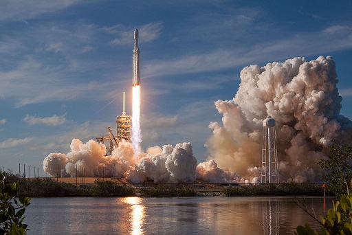 SpaceX Falcon Heavy rocket blasts Elon Musk's personal Tesla into solar orbit