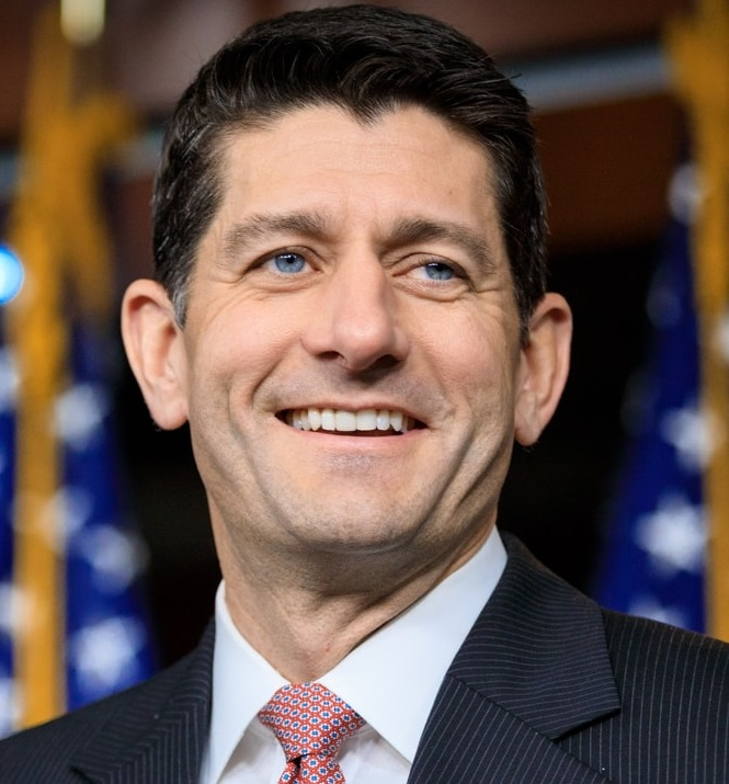 United States Speaker of the House Paul Ryan announces retirement